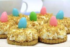 Gâteaux de Pâques de noix de coco Images stock