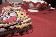 Gâteaux de pain d'épice Photos stock