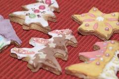 Gâteaux de pain d'épice Photographie stock