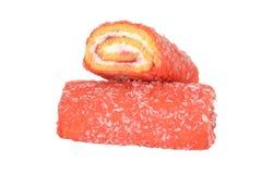 Gâteaux de petit pain de gelée Images libres de droits