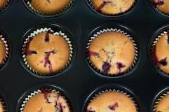 Gâteaux de Prepering Photo stock