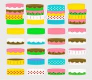 Gâteaux de ramassage Photographie stock