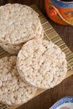 Gâteaux de riz Photo libre de droits
