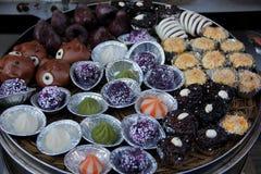 Gâteaux de riz Photographie stock libre de droits