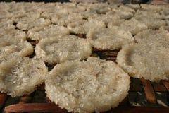 Gâteaux de riz collant Laos image libre de droits