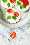 Gâteaux de riz sains Images stock