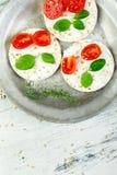 Gâteaux de riz sains Image stock