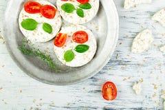 Gâteaux de riz sains Image libre de droits