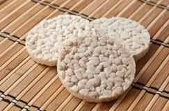 Gâteaux de riz Photos stock