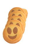 Gâteaux de sourire photos libres de droits