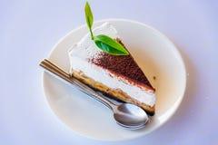 Gâteaux de tarte de banoffee Photos libres de droits
