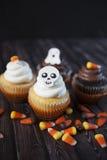 Gâteaux de Veille de la toussaint Photo libre de droits
