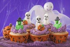 Gâteaux de Veille de la toussaint Photographie stock libre de droits