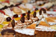 Gâteaux doux Image stock