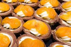 Gâteaux doux Photo stock