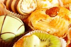 Gâteaux et pâtisseries Photographie stock libre de droits