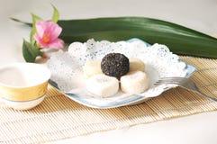 Gâteaux et pâtisseries de Chinois Photographie stock libre de droits