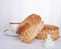 Gâteaux faits de pâte feuilletée Image libre de droits