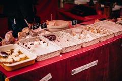Gâteaux faits maison image stock