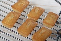 Gâteaux faits maison de financier, pâtisserie française photos libres de droits