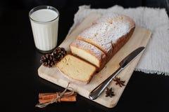 Gâteaux faits maison pour le petit déjeuner Photographie stock