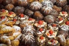 Gâteaux - fond photos libres de droits