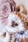 Gâteaux frais cuits au four Photo stock