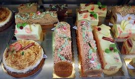 Gâteaux français Images libres de droits