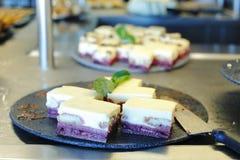 Gâteaux ou desserts Image stock