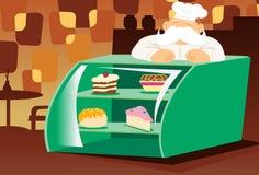 Gâteaux, pâtisseries et plus Images libres de droits