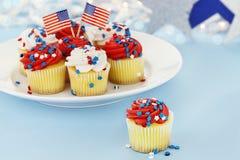 Gâteaux patriotiques Images stock