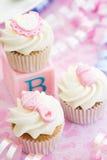 Gâteaux pour une douche de chéri Photo stock