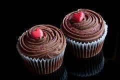 Gâteaux romantiques Images libres de droits