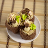 Gâteaux savoureux Photographie stock libre de droits