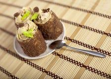 Gâteaux savoureux Images stock
