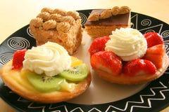 Gâteaux savoureux Photographie stock