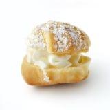 Gâteaux - souffles crèmes et eclairs Image libre de droits