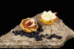 Gâteaux sur la pierre Image stock
