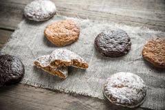 Gâteaux vitrés de pain d'épice Image stock