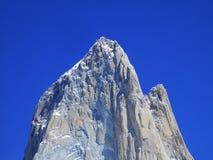 Góra Chalten Roy w górę lub Fitz, Santa Cruz Argentyna obraz royalty free