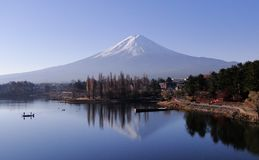 Góra Fuji - ikonowy Japonia fotografia stock