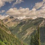 Góry Fernie szczyty obraz royalty free