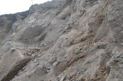 Góry skała w miejscu który jest białawym brązem obraz royalty free