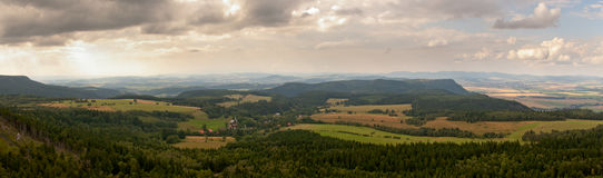Góry sto�owe Stock Images
