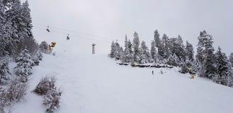Góry w Utah zimie obraz royalty free