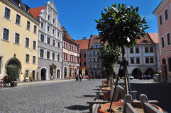 Görlitz, Obermarkt square. Germany Royalty Free Stock Photo