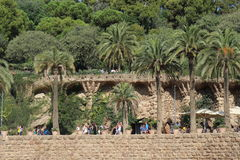 Güell Park Royalty Free Stock Photos