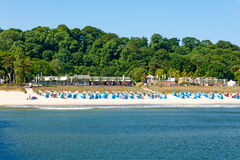 Göhren strand, RÃ-¼gen Arkivbilder