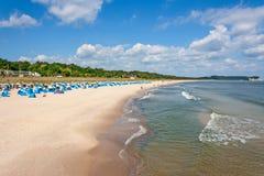 Göhren strand, RÃ-¼gen Fotografering för Bildbyråer