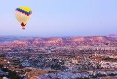 göreme da excursão dos ballons de Cappadocia Fotos de Stock